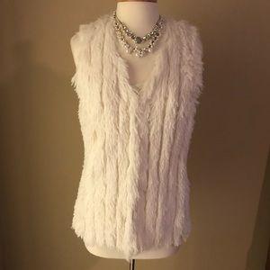 Shaggy vest